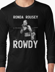 Ronda Rousey Signature [FIGHT CAMP] Long Sleeve T-Shirt
