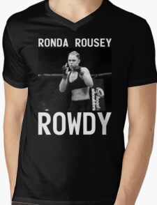 Ronda Rousey Signature [FIGHT CAMP] Mens V-Neck T-Shirt