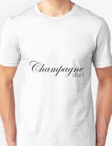 champagne diet Unisex T-Shirt