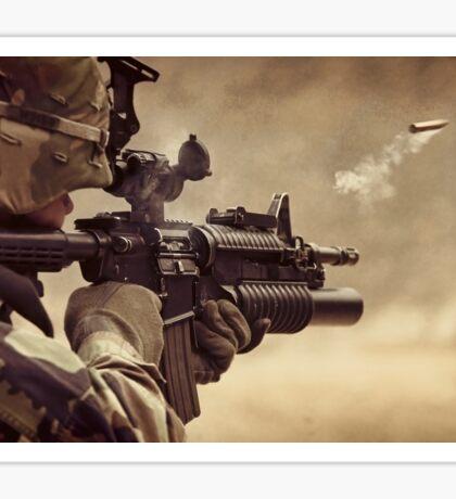 Gunshot Sticker