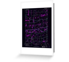 New York NY Cambria 123148 1965 24000 Inverted Greeting Card