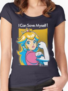 Save Myself Women's Fitted Scoop T-Shirt