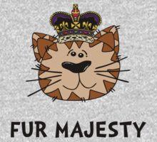 Fur Majesty Kids Tee