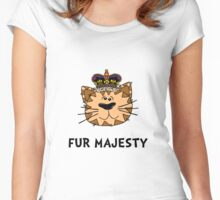 Fur Majesty Women's Fitted Scoop T-Shirt