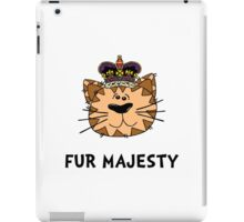 Fur Majesty iPad Case/Skin
