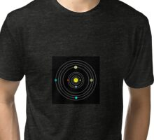 Simple solar system Tri-blend T-Shirt