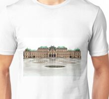 The Belvedere Palace in Vienna Unisex T-Shirt