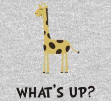 Giraffe Whats Up One Piece - Long Sleeve