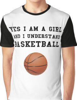 Girl Basketball Graphic T-Shirt