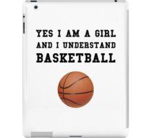 Girl Basketball iPad Case/Skin