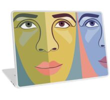 FACES #9 Laptop Skin