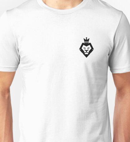 Crown Pocket Logo Black Unisex T-Shirt