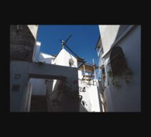 Whitewashed Mediterranean Courtyard - a Charming Traditional Home on Capri Island, Italy Baby Tee