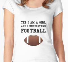 Girl Football Women's Fitted Scoop T-Shirt