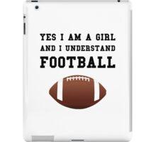 Girl Football iPad Case/Skin