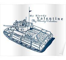 Valentine Tank Poster