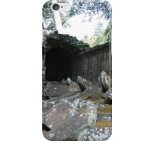 Fallen Building, Siem Reap, Cambodia iPhone Case/Skin