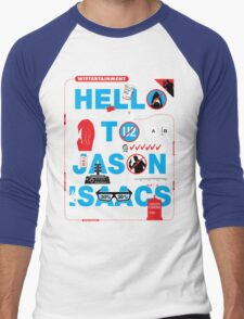Wittertainment: 20 In-Jokes in one Graphic Men's Baseball ¾ T-Shirt