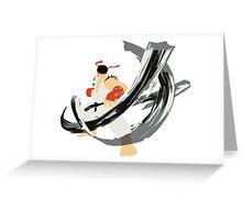 Ryu SFV Greeting Card