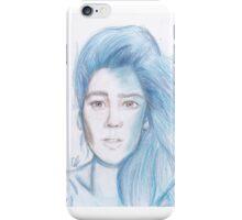 Halsey (Realistic) iPhone Case/Skin