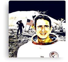 JAMES IRWIN-APOLLO 15 MISSION Canvas Print