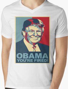 Trump 2016 Obama You're Fired! Donald Trump Mens V-Neck T-Shirt