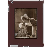Nurse with Bandaged Boy WWII iPad Case/Skin