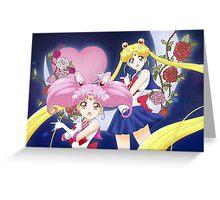 Sailor Moon Crystal III Oshiokyo! Greeting Card