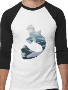 Dewgong used brine Men's Baseball ¾ T-Shirt