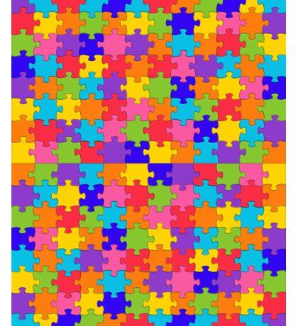 autism puzzle Sticker