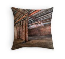 Factory complex Throw Pillow