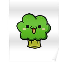 Cute broccoli Poster