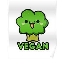 Cute vegan Poster