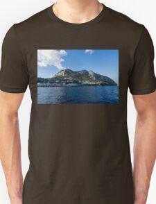 Capri Island From the Sea T-Shirt