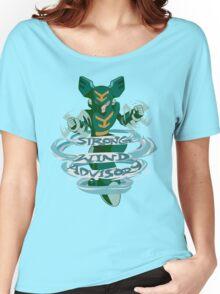 Tornado Man's Strong Wind Advisory  Women's Relaxed Fit T-Shirt
