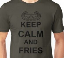 Keep Calm and FRIES - Air Assault Unisex T-Shirt