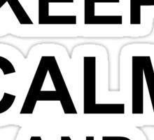 Keep Calm and FRIES - Air Assault Sticker
