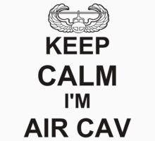 Keep Calm I'm Air Cav - Air Assault One Piece - Long Sleeve