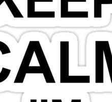 Keep Calm I'm Air Cav - Air Assault Sticker