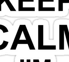 Keep Calm I'm Airborne - Parachutist Sticker