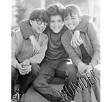 Wonder Years Photographic Print