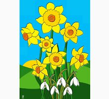 DAFFS and SNOWDROPS Unisex T-Shirt