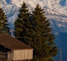 Jungfrau , Mench, Eiger, Alpen Sticker