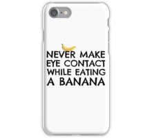 Banana Joke Funny Sex Humour Dick Joke Man Woman Fruit iPhone Case/Skin
