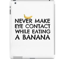 Banana Joke Funny Sex Humour Dick Joke Man Woman Fruit iPad Case/Skin