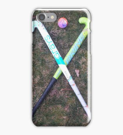 Field hockey  iPhone Case/Skin