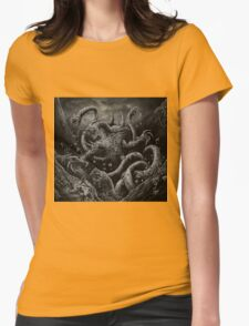 Beast Hunt Womens Fitted T-Shirt