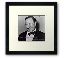 Tennessee Williams Framed Print