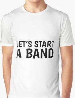 Band Music Song Rock Guitar Drums Bass Musician  Graphic T-Shirt