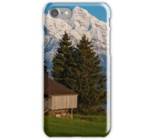 Jungfrau , Mench, Eiger, Alpen iPhone Case/Skin